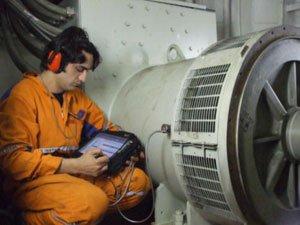 pelatihan monitoring kondisi mesin