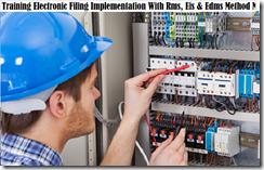 training electronic filing implementation murah