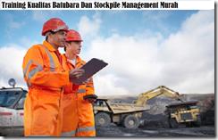 training penentuan kualitas batubara murah
