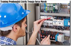 training photovoltaic & solar thermal murah