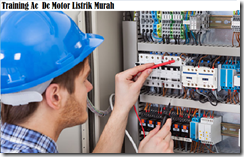 training ac dc electrical motor murah